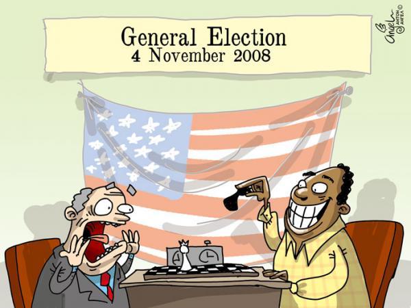 Карикатура: Выборы, АнтонАнгел