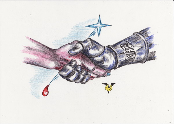 Карикатура: НАТуральное партнерство, Владимир Уваров