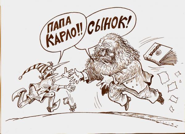 Карикатура: ПапаКарло, Бауржан Избасаров