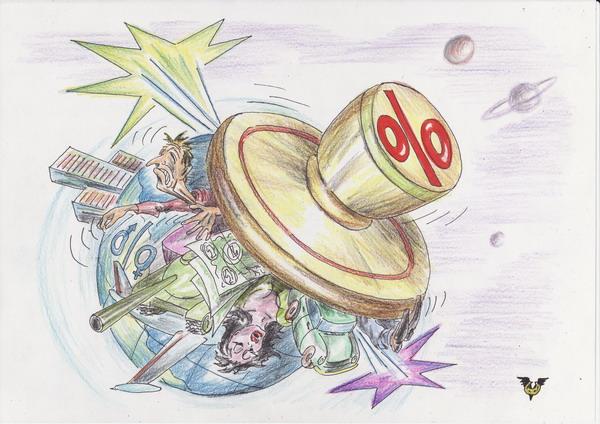Карикатура: Печать цивилизации, Владимир Уваров