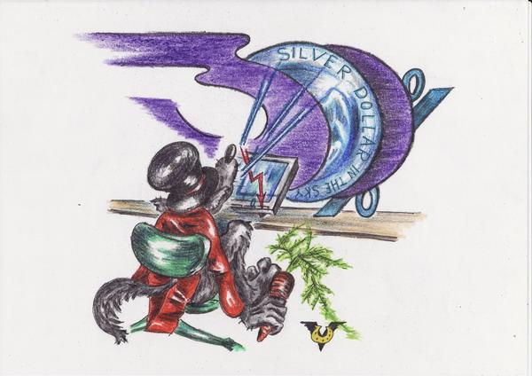 Карикатура: Баллада о прибыли, Владимир Уваров