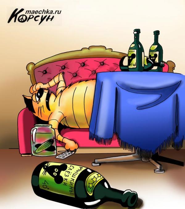 Карикатура: Мышкины слезы *****, Сергей Корсун