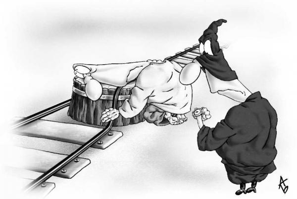 Карикатура: Расписание, Андрей Бузов