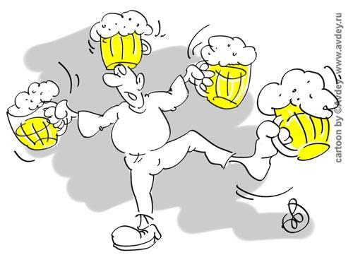 Карикатура, Авдей (Avdey)