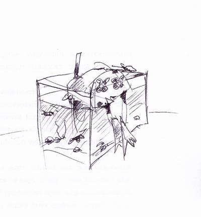 Карикатура: водолазъ, Iofik