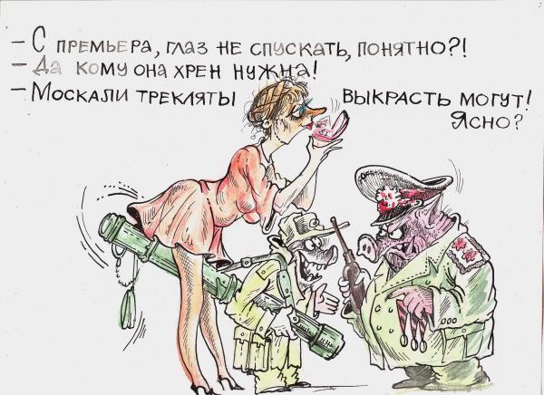 Карикатура: Тимошенко, Бауржан Избасаров