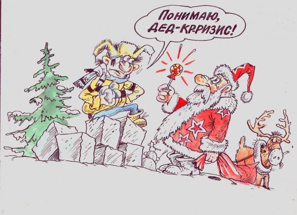 Карикатура: Понятливый, Бауржан Избасаров
