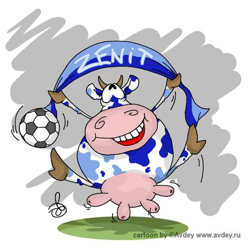 Карикатура: Футбольное, Авдей (Avdey)