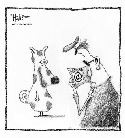 Карикатура: @, Hafiz