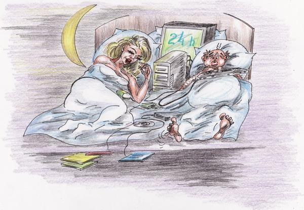 Карикатура: Полная семья, Владимир Уваров