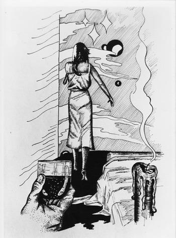 Карикатура: До свидания,Тоска!, Владимир Уваров