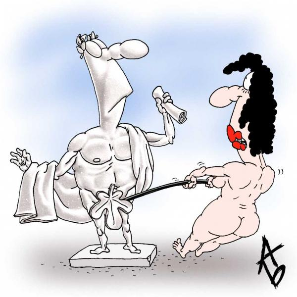 Карикатура, БУЗОВ АНДРЕЙ