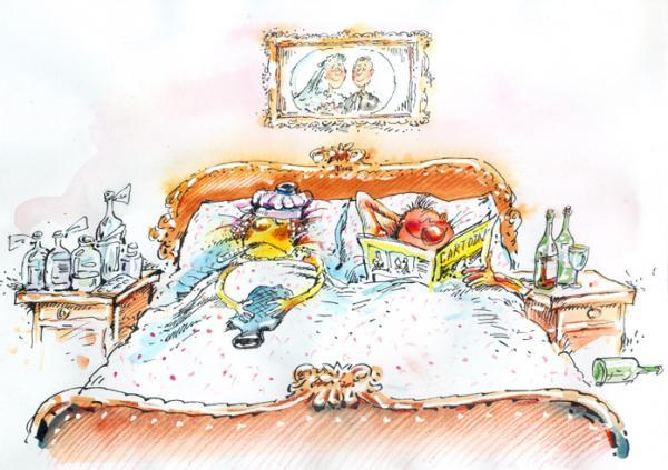 Карикатура, BIB