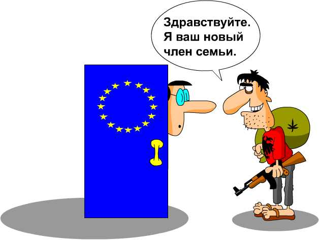 Карикатура: Независимость Косово, Дмитрий Бандура