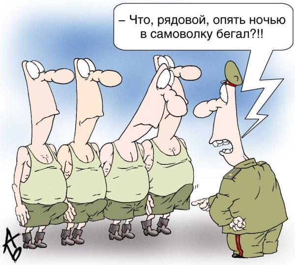 Карикатура, Андрей Бузов
