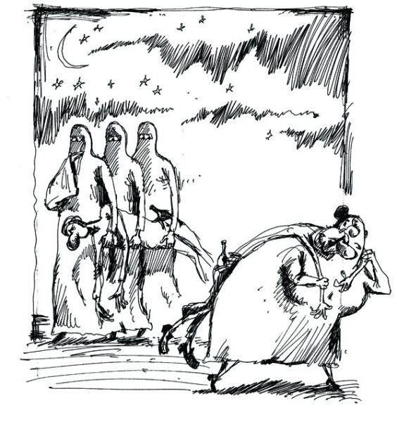 Карикатура: Не очень плохо, BIB