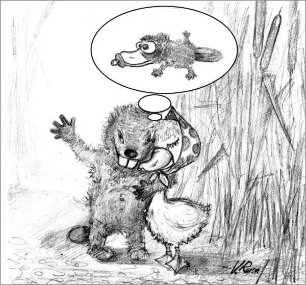 Карикатура: весна, Вадим Русу