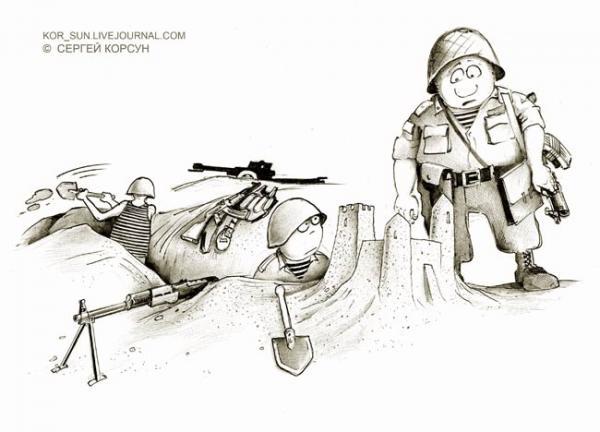 Карикатура: ПЕСОЧНИЦА, Сергей Корсун