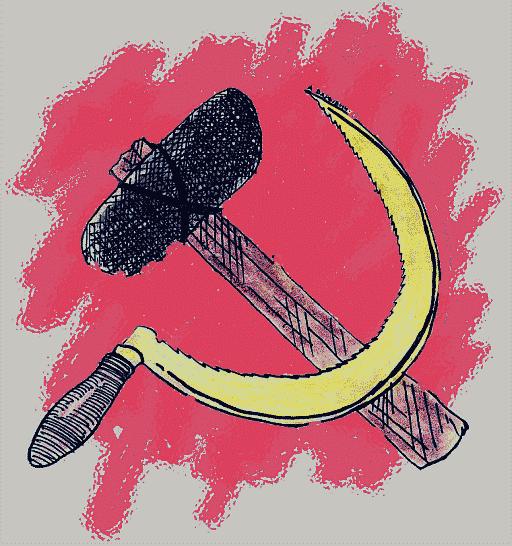 Карикатура: Серп и молот, Александр Барыбин