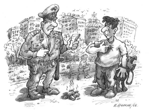 Карикатура, Михаил Жилкин