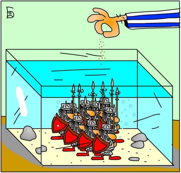 Карикатура: 33, Дмитрий Бандура