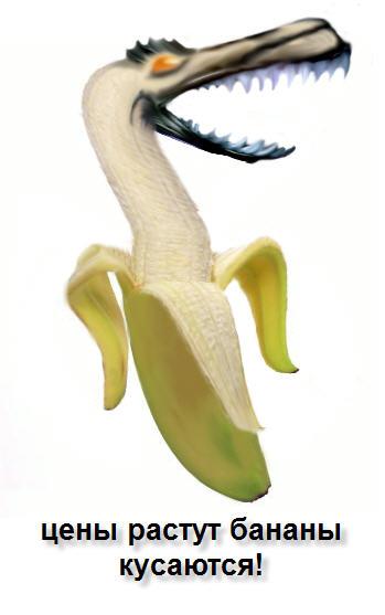 Карикатура: банан, Екатерина