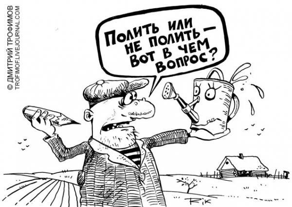 Карикатура: Рязанский Гамлет, Трофимов Дмитрий