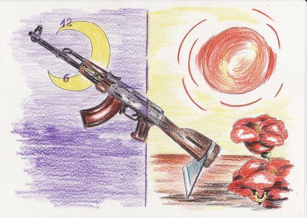 Карикатура: Восточная тяпка, Владимир Уваров