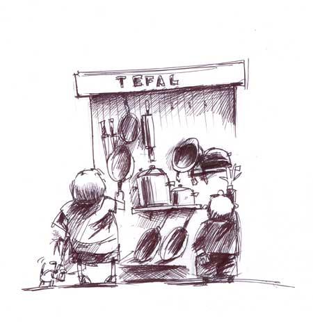 Карикатура: Ты всегда думаешь о нас, Iofik
