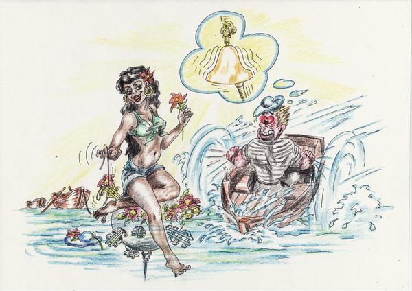 Карикатура: Бермуды, Владимир Уваров