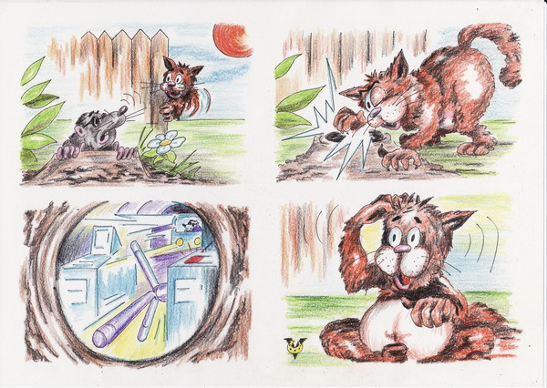 Карикатура: Бред какой-то..., Владимир Уваров
