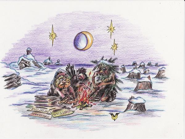 Карикатура: Ненужные сказки, Владимир Уваров