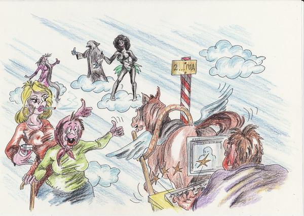 Карикатура: Идеи, Владимир Уваров