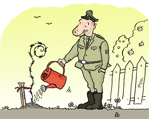 Карикатура: Росток, Василий Александров