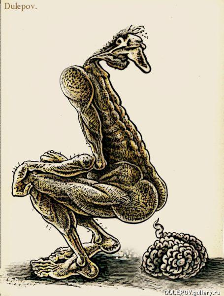 Карикатура: Происшествие, Андрей Дулепов(DULEPOV)