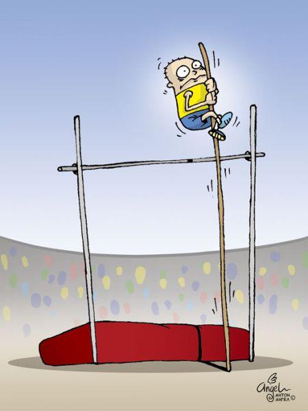 Карикатура: Незадача., АнтонАнгел