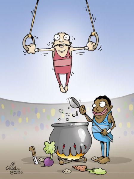 Карикатура, АнтонАнгел