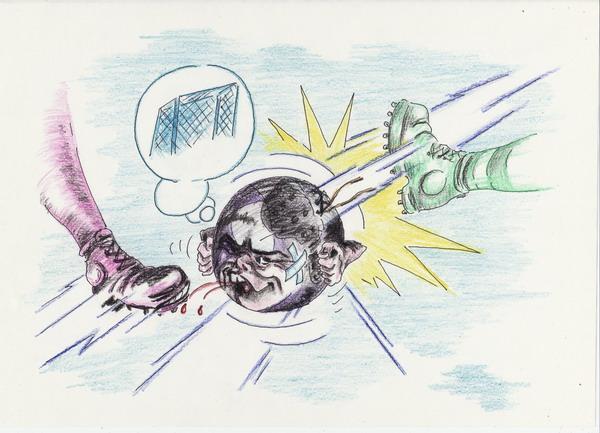 Карикатура: Простой парень, Владимир Уваров