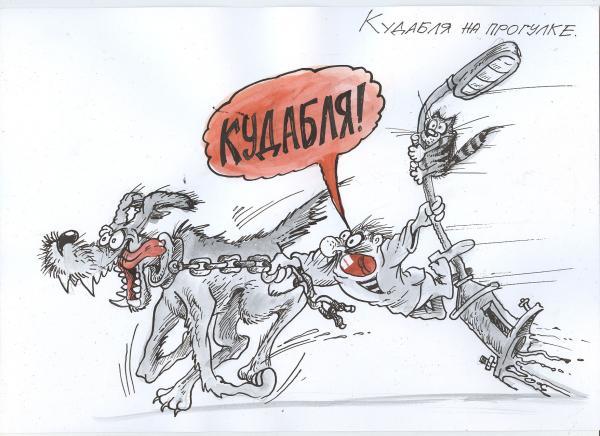 Карикатура: Кудабля, Избасаров Бауржан