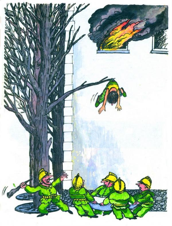Карикатура: Находчивый, Марат Валиахметов