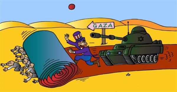 Карикатура: Gaza, Alexei Talimonov