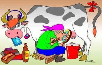 Карикатура: Инновации, Евгений Кран