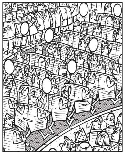 Карикатура: Свободу парадам!, Сергей Репьев