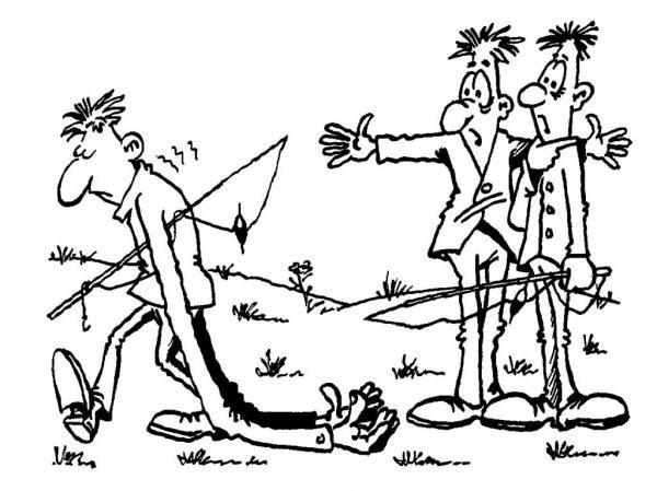 Карикатура: Перебор, Юрий Кумыков