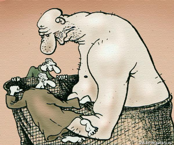 Карикатура: КУКОЛЬНИК, Андрей Дулепов(DULEPOV)
