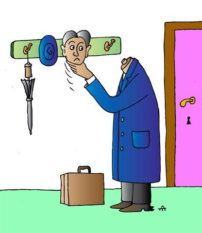Карикатура: НЕ нужный предмет, Alexei Talimonov