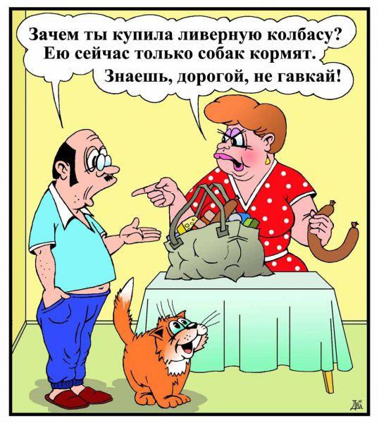 Карикатура: суперкорм, виктор дидюкин