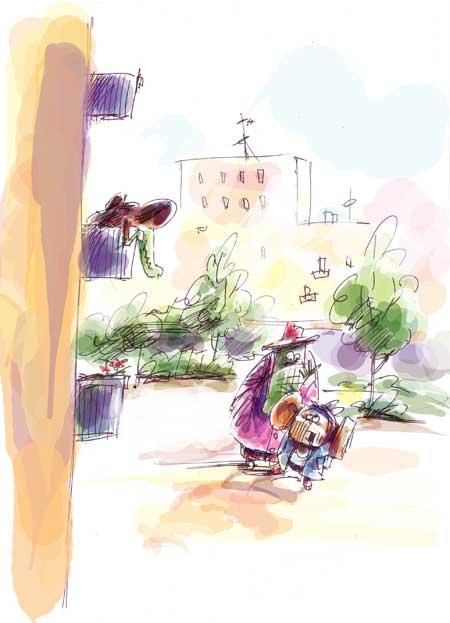 Карикатура: Родственник..., Iofik