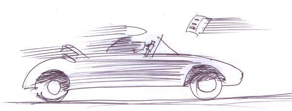 Карикатура: скорость, Iofik