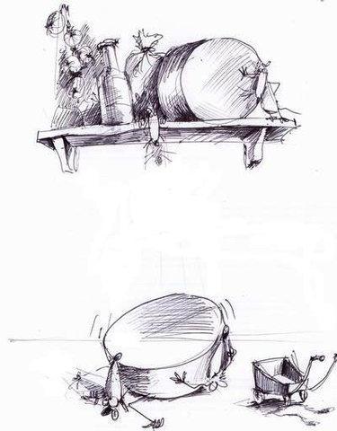 Карикатура: Спистили..., Iofik
